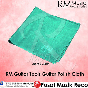 RM Guitar Instrument Polish Cleaning Cloth 30cm x 30cm - Reco Music Malaysia