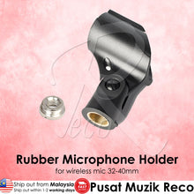 Load image into Gallery viewer, RM Rubber Wireless Microphone Clip - Reco Music Malaysia