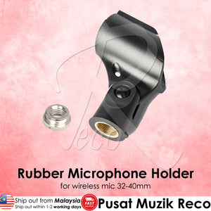 RM Rubber Wireless Microphone Clip - Reco Music Malaysia