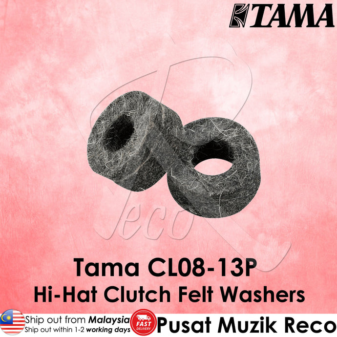 Tama CL08-13P Hi-Hat Clutch Felt Washers | Reco Music Malaysia