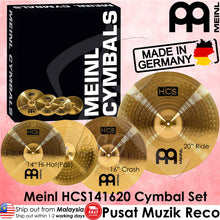 Load image into Gallery viewer, Meinl HCS141620 HCS Cymbal Set (14in Hi-Hat, 16in Crash, 20in Ride) (Made in Germany) - Recomusic
