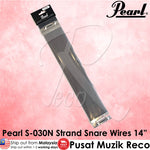 "Pearl S-030N Snare Drum Wires Snappy 14"" 24 Strand - Recomusic"