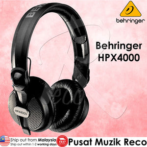 Behringer HPX4000 High-Definition Dj Headphones - Reco Music Malaysia