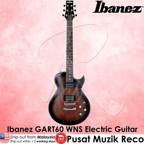 Ibanez Electric Guitar GART60 WNS - Walnut Sunburst ( GART60WNS ) - Recomusic