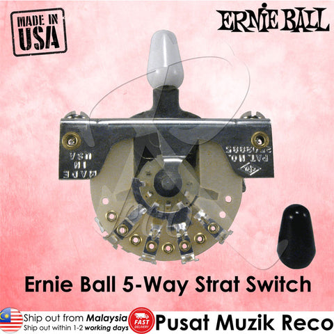 Ernie Ball 6370 Guitar 5-Way Strat Switch - Recomusic