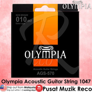 Olympia AGS-570 Acoustic Guitar String 1047 - Recomusic