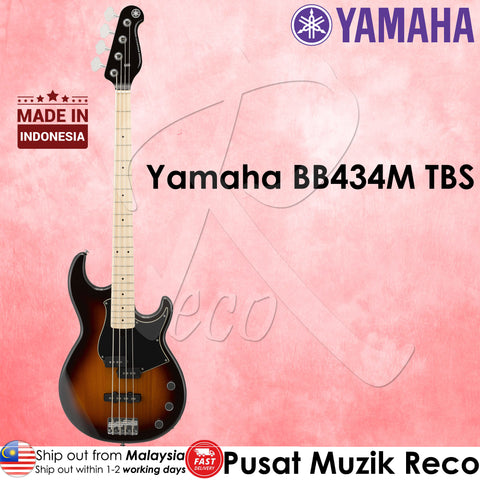 Yamaha | BB434M | 4 String Electric Bass Guitar ( TBS ) | Recomusic