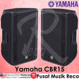 Yamaha CBR15 1000-Watt 15 inch Passive Speaker - Pair | Recomusic