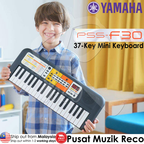 Yamaha PSS-F30 37-Key Mini Music Keyboard (PSSF30 / PSS F30)