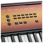 Yamaha PSR-E360 61-key Touch Sensitive Beginner Portable Keyboard PSR E360 Maple Wood Grain | Reco Music Malaysia