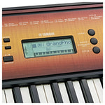 Yamaha PSR-E360 61-key Beginner Portable Keyboard PSR E360 Maple - Recomusic