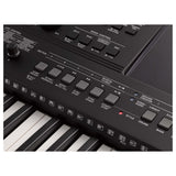 Yamaha PSR-E463 PSR E463 61-keys Touch Response Portable Keyboard Black | Reco Music Malaysia