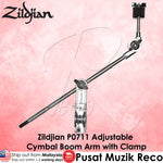 Zildjian P0711 Adjustable Cymbal Boom Arm with Clamp - Recomusic
