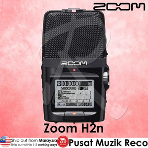 Zoom H2n 2 Input 4 Track Handy Recorder - Reco Music Malaysia