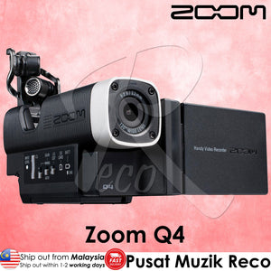 Zoom Q4 Portable HD Video and Audio Recorder - Reco Music Malaysia