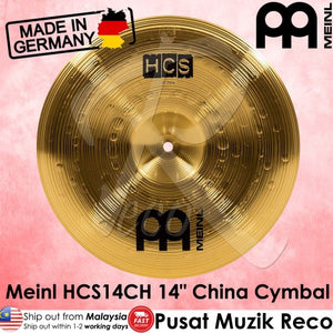 Meinl HCS14CH 14 inch Traditional China Cymbal - Reco Music Malaysia