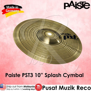 Paiste PST3 10in Splash Cymbal  - Made in Germany