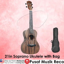 Load image into Gallery viewer,  Molin 21in Soprano Ukulele with Bag | RecoMusic Malaysia