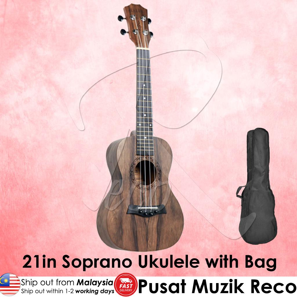Molin 21in Soprano Ukulele with Bag | RecoMusic Malaysia