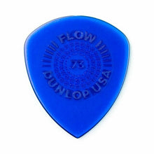 Load image into Gallery viewer, Jim Dunlop 549P073 Flow Standard Grip Guitar Pick 0.73mm Guitar Picks Player Pack - Reco Music Malaysia