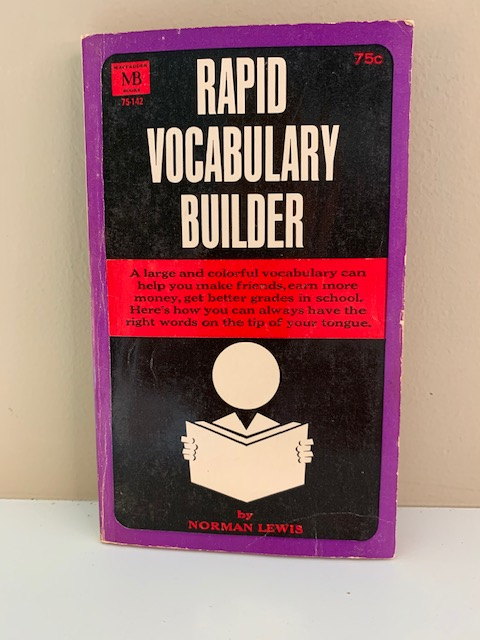 Rapid Vocabulary Builder, by Norman Lewis