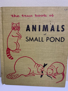 The True Book of Animals of Small Pond, written and illustrated by Phoebe Erickson