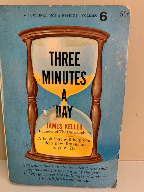 Three Minutes a Day, by James Keller