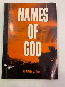 Names of God by Nathan J. Stone