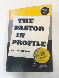 The Pastor In Profile by Adolph Bedsole