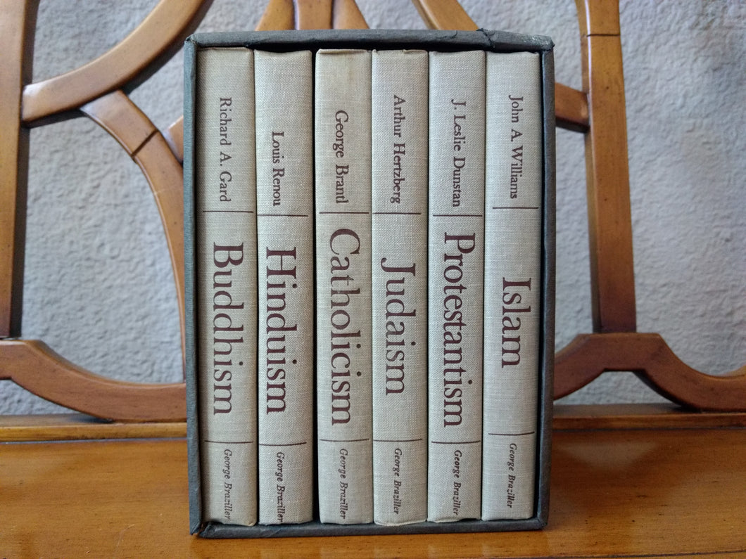 Great Religions of Modern Man (6-volume set) edited by J. Leslie Dunstan