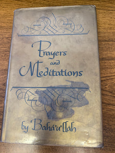 Prayers and Meditations by Baha'u'llah