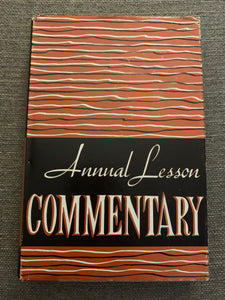 Annual Lesson Commentary by Ralph W. Harris