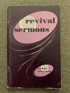 Revival Sermons by Hyman Appelman