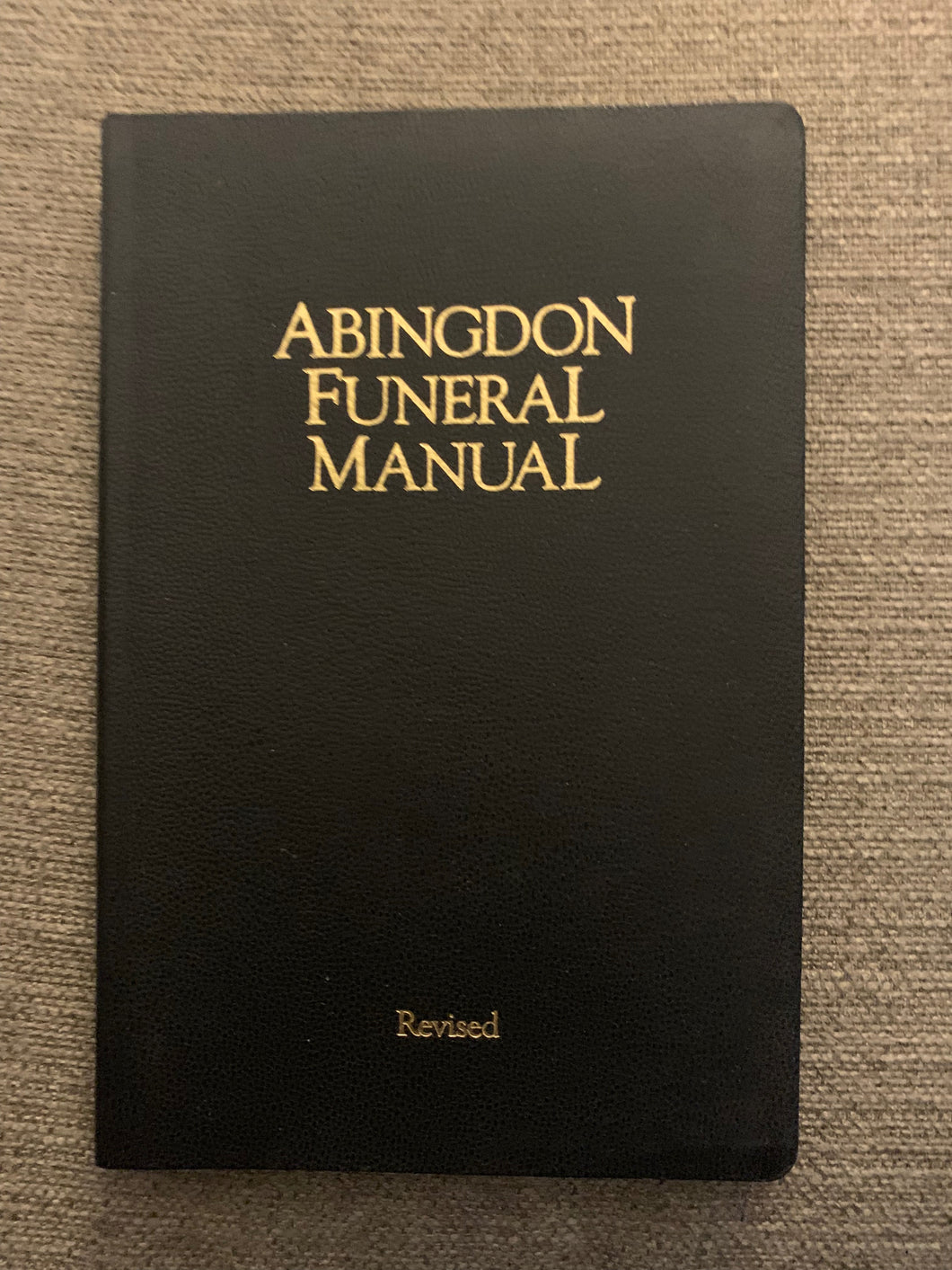Abingdon Funeral Manual by Perry H. Biddle