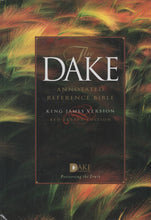 Load image into Gallery viewer, The Dake Annotated Reference Bible (KJV, red letter edition) by Finnis Jennings Dake