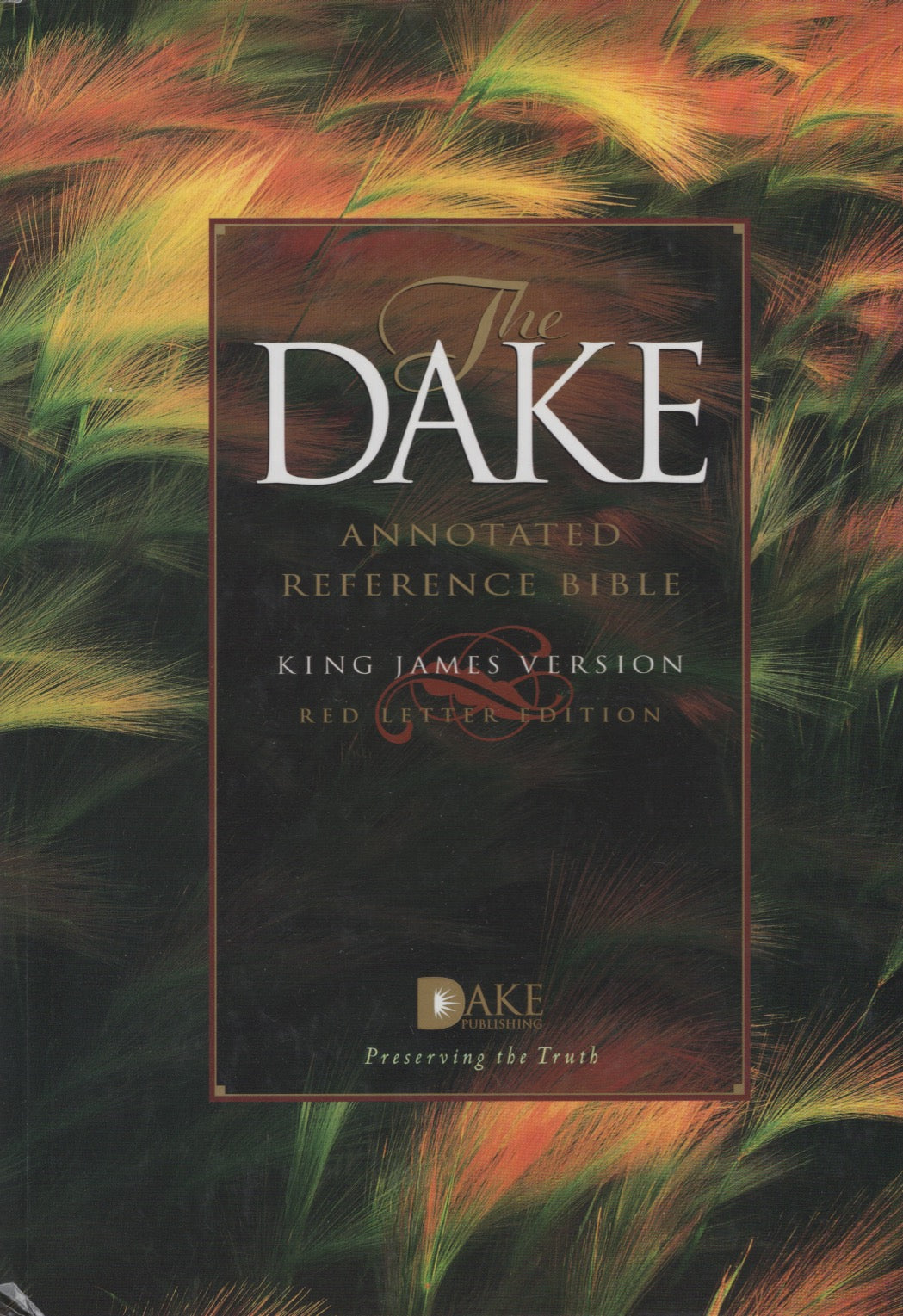 The Dake Annotated Reference Bible (KJV, red letter edition) by Finnis Jennings Dake