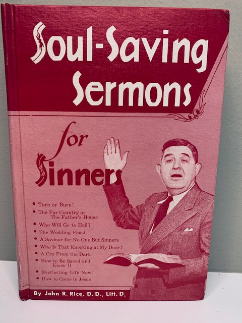 Soul Saving Sermons by John Rice
