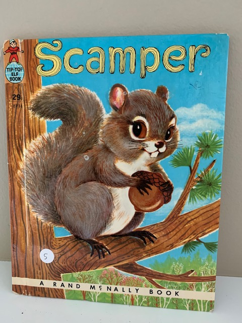 Scamper, by Marjorie Barrows, illustrated by Jean Tamburine