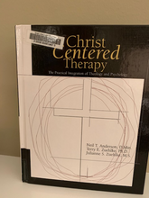 Load image into Gallery viewer, Christ Centered Therapy by Anderson, Zuehlke, and Zuehlke