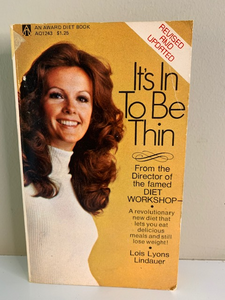 It's In to Be Thin, by Lois Lyons Lindauerer