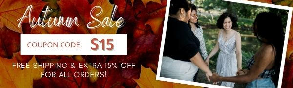 Pavacat Autumn Sale, Extra 15% off and free shipping for all orders.
