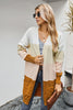Slim Knit V-neck Contrast Cardigan