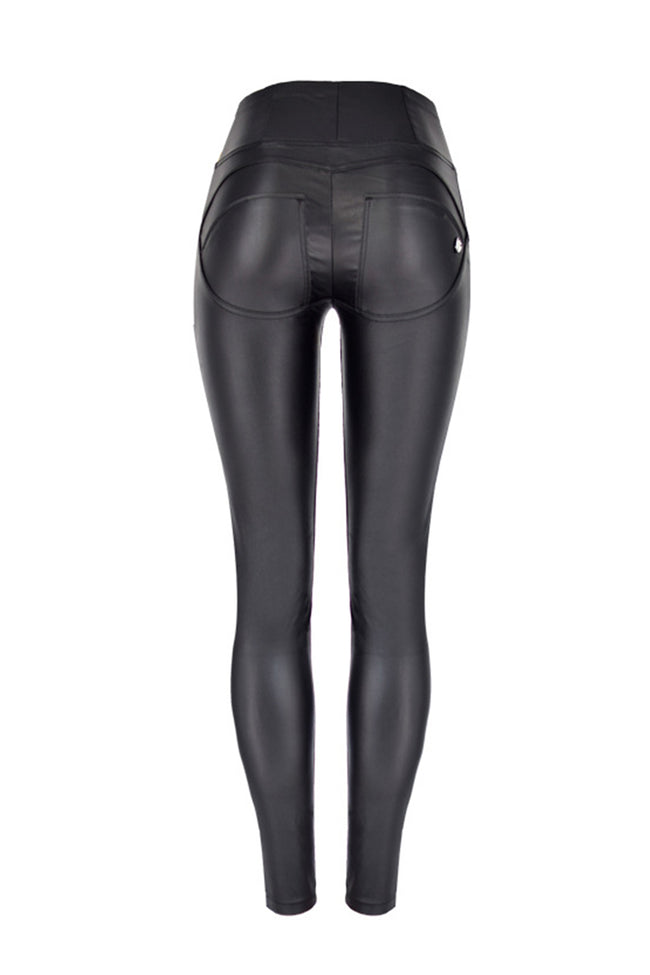 Hip Lift Motorcycle Leather Pants