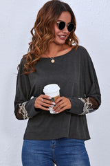 Long Sleeve Round Neck Sweater