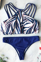 Unique Ruffled Bikini Set