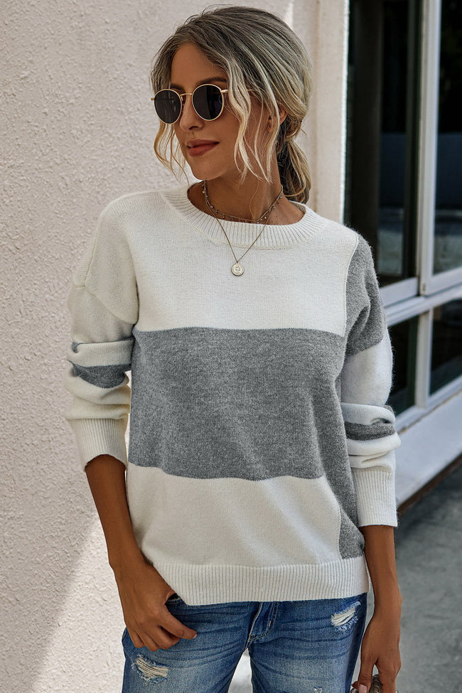 Chic long-sleeved pullovers