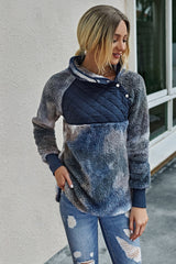 Patchwork  Tie-dyed Hoodies