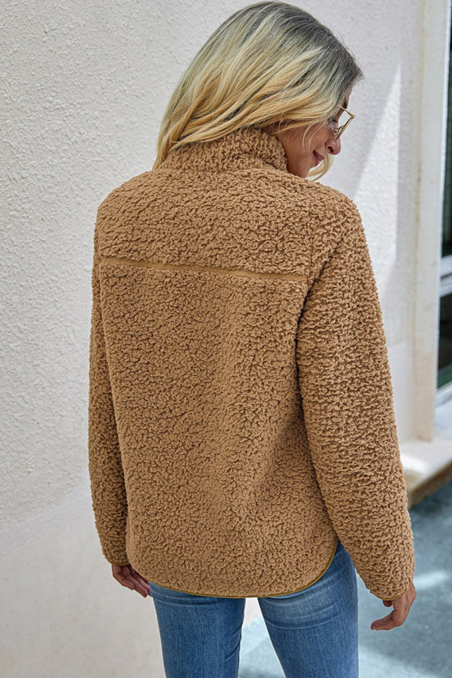 Plush Pocket Coat