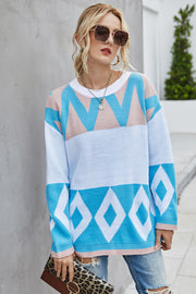 Loose Long-Sleeved Mid-Length Cardigan
