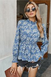 Printed Slim Waist Shirt